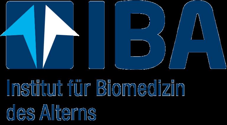 Logo des Instituts für Biomedizin des Alterns (IBA)